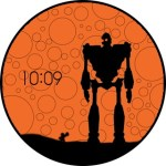 Iron Giant Watchface from Moto 360 [Chinese]