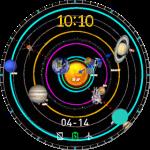 Amazfit Watchface – SolarSystem