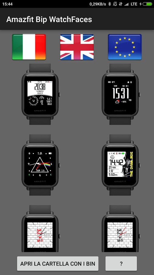 Amazfit Bip Watchface App for Android! - Amazfit Central