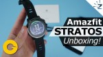 Huami Amazfit Stratos Smartwatch Unboxing, Hands On!