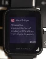 Alert Bridge for Amazfit Bip – Better Alerts for Bip!