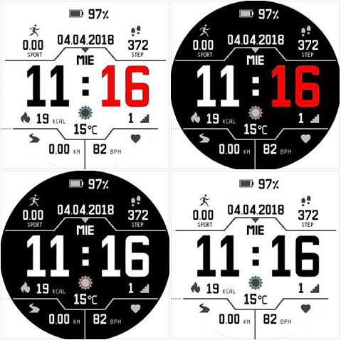 New Pace watchfaces from Luis Baena - Amazfit Central