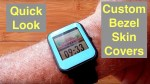 GADGETWRAPS Custom Smartwatch and Fitness Band Bezel Screen Protector Skins: Quick Look