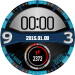 BShock – Amazfit Verge Watch faces