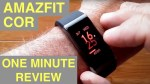 Original XIAOMI AMAZFIT COR MiDong IP68 Smart Bracelet / Smartband:  One Minute Overview