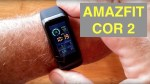 XIAOMI AMAZFIT COR 2 MiDong 5ATM Waterproof Smart Bracelet / Smartband:  Unboxing and 1st Look