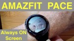 XIAOMI AMAZFIT PACE Fitness Smartwatch: How To Add Custom Watch Faces