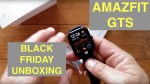 XIAOMI AMAZFIT GTS 5ATM Waterproof Sports Fitness Smartwatch: Black Friday Unboxing