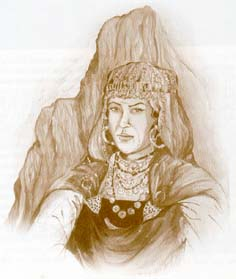 Reine amazighe Dyhia dite Kahina Amazigh histoire:  la reine berbère Kahina