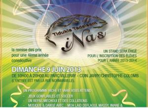 ecole amazigh inas Montreal 300x219 Amazigh Montréal : l'école de tamazight INAS : Fête de fin dannée scolaire le 9 juin