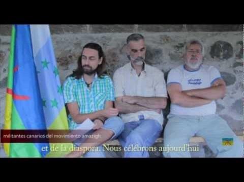 dia de la bandera amazigh desde Canarias SUB FR