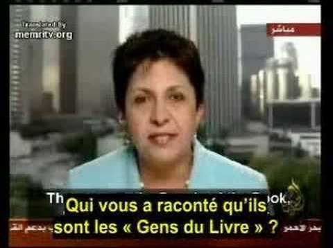 Journaliste arabe courageuse
