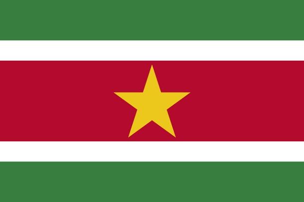 Bendera Suriname