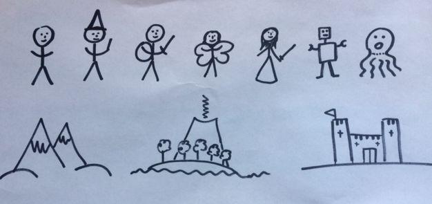 Adventure doodles
