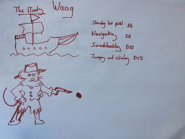 Waag the Pirate