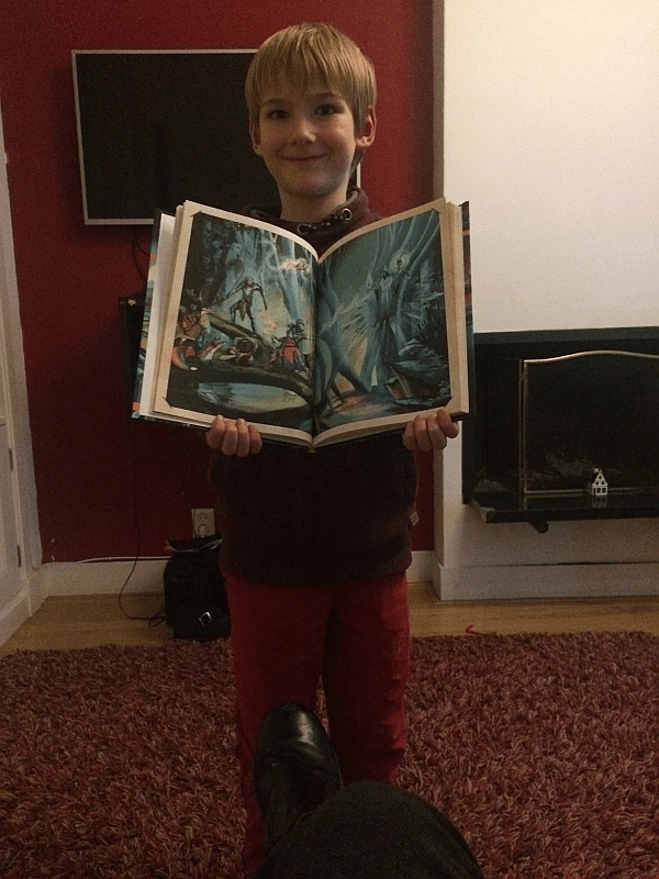ruben and the book small
