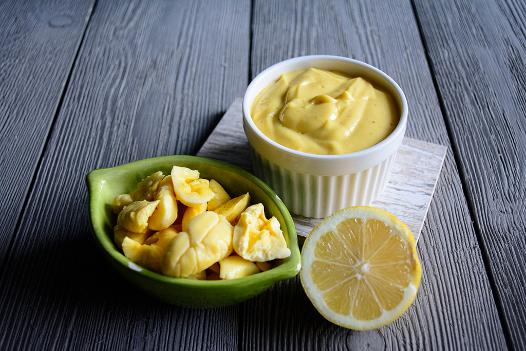 #Ackee-mayonnaise,-no-artifical-flavour-or-colours-no-tofu-just-a-few-simple-ingredients