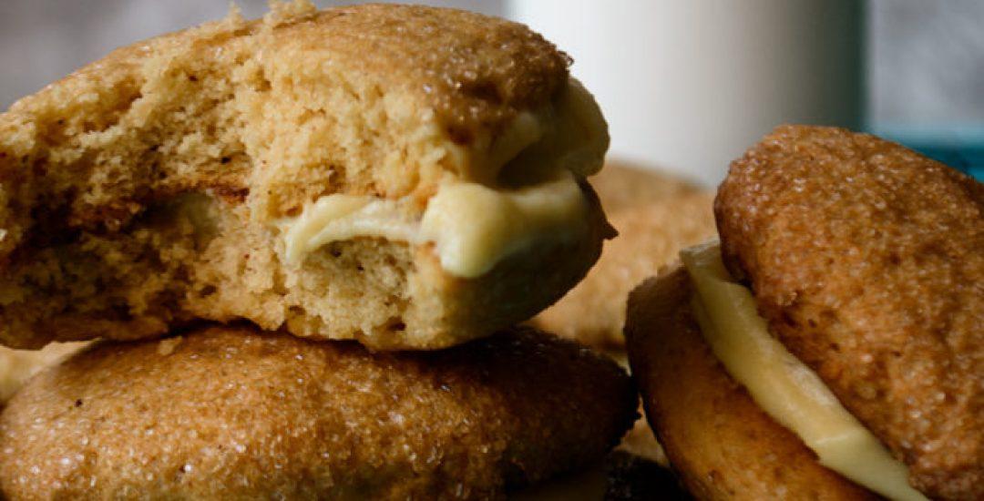 "Chai Spiced Ackee Sandwich Cookies (""Bougie"" Ackee Bulla)"