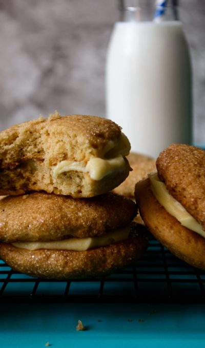 "Chai Spiced Ackee Sandwich Cookies (""Bougie"" Ackee Bulla)"