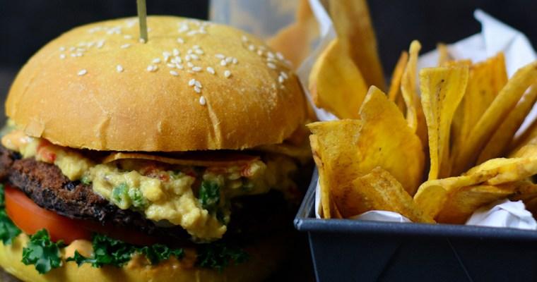 Ackee Smash Burger