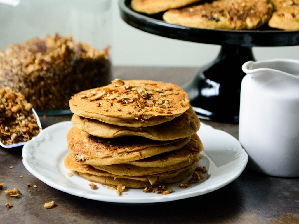 Ackees-replace-the-oil-and-eggs-in-this-vegan-granola-pancake