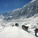 Rolwaling valley Tashi lapcha Pass trek to Gokyo