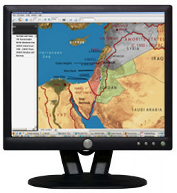 digital maps of the holy land for instant download