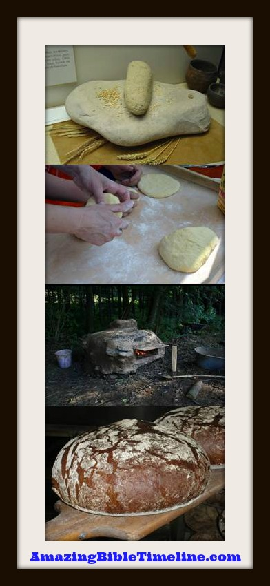 how to make ancient egyptian bread