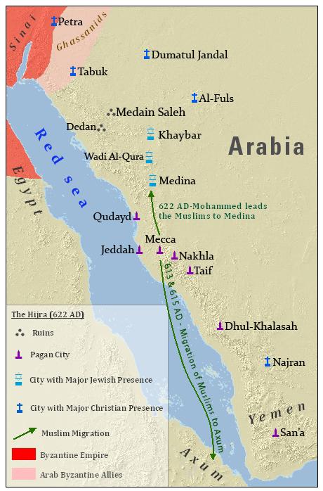 Hegira - Amazing Bible Timeline with World History
