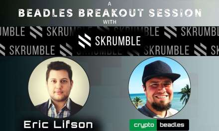 (SKM) Crypto Communications via Skrumble CoFounder Eric Lifson Explains