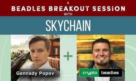 ICO SkyChain (SKCH) CEO Gennady Popov A Beadles Breakout Session