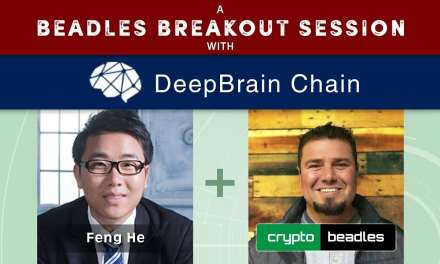 Deep Brain Chain CEO Feng He DBC A Beadles Breakout Session: