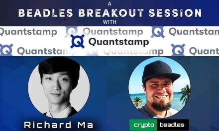 (QSP) Quantstamp and Richard Ma, The Incredible Vision