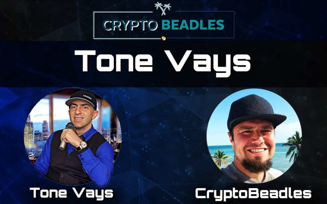 (Crypto) Casual talk with the iconic Tone Vays