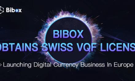 PR: Bibox Gains Swiss VQF License – Accelerating Global Expansion