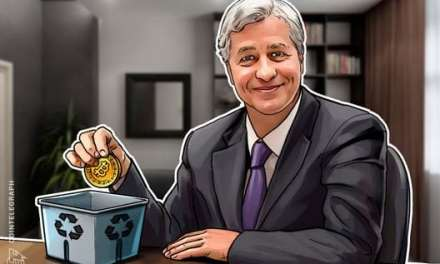 JPMorgan CEO Jamie Dimon Returns to Bitcoin Bashing, Calls Cryptocurrency a 'Scam'