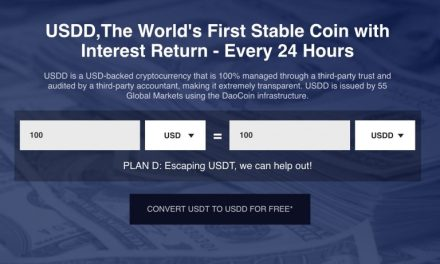 PR: Debut of USDD – A Stable Coin That Pays You Interest