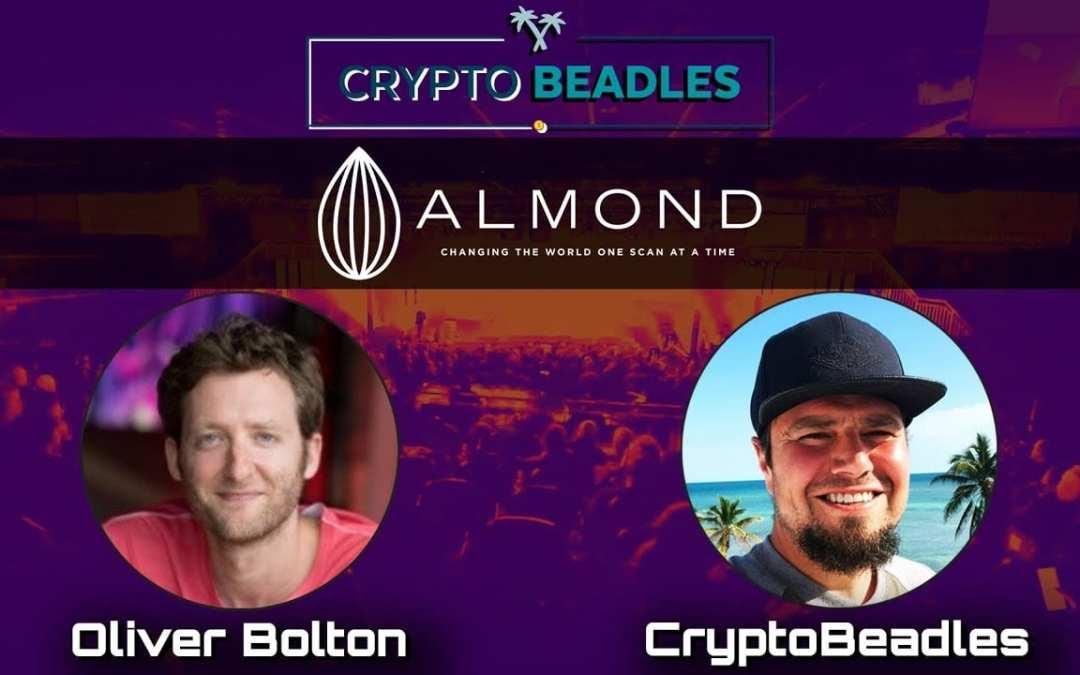 Super fun crypto interview with Almond CEO Oliver Bolton