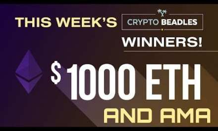 Live AMA and $1000 in Crypto Giveaways to this weeks winners!