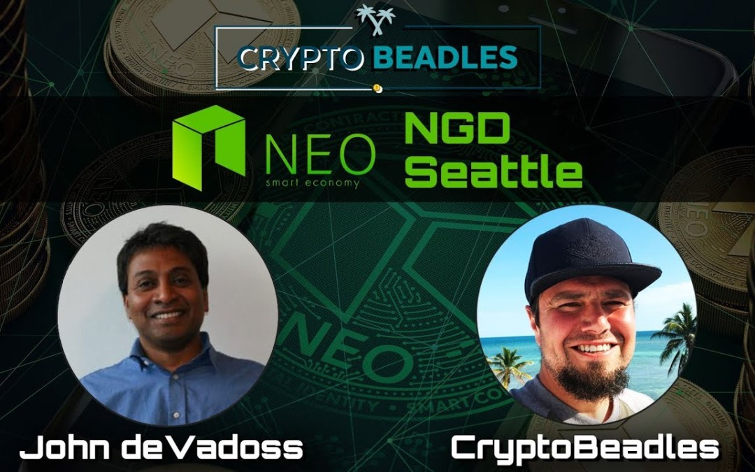 ⎮NEO⎮⎮Head of NGD⎮ John deVadoss Crypto and Blockchain Chat