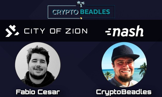 ⎮Fabio Cesar⎮NASH NEX⎮City Of Zion⎮Co-Founder⎮ talks NEO Blockchain and Crypto ecosystem