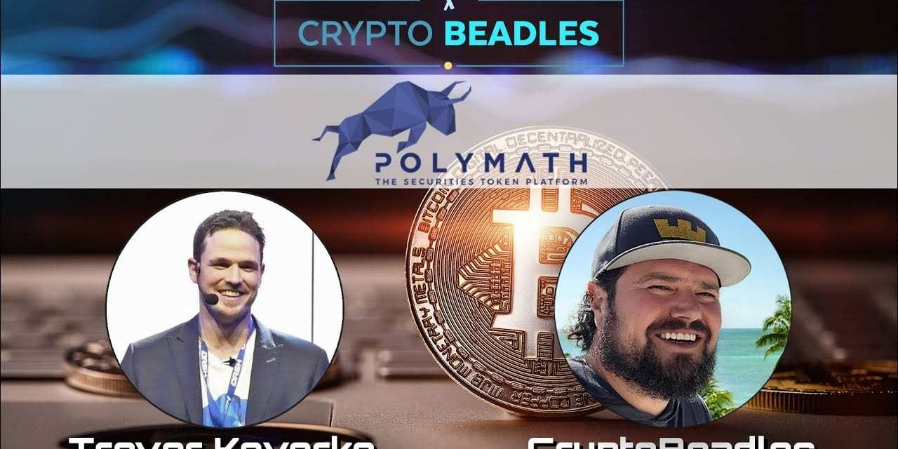 ⎮Polymath⎮Polymesh⎮Blockchain and tokenize the world⎮From Hockey to Crypto⎮