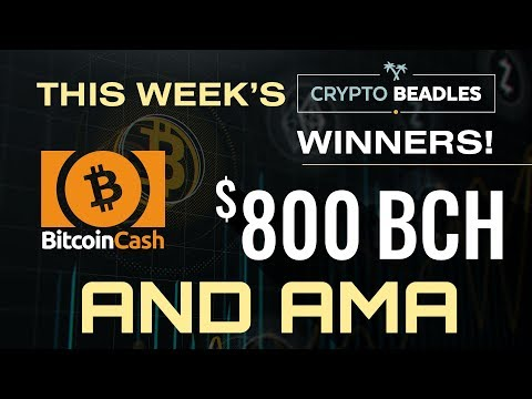 $800 in BCH Giveaway LIVE⎮Blockchain and Crypto⎮IOST⎮BCH⎮Monarch Updates⎮Libra⎮Bitcoin Surges!