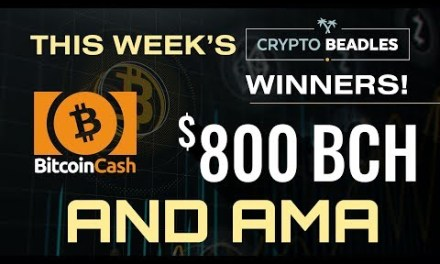 $800 in BCH Giveaway LIVE⎮Blockchain and Crypto⎮IOST Updates! Monarch Updates! AMA and More!