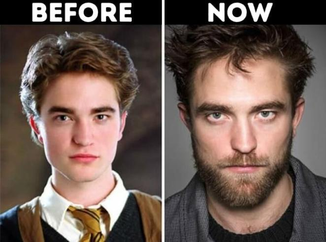 actors from Harry Potter now Cedric Diggory Played by Robert Pattinson