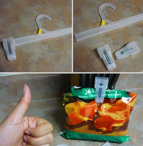5 minutes hacks save chips for later