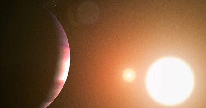 NASA, TOI 1338 b first planet founded by the Transiting Exoplanet Survey Satellite System