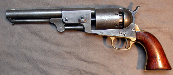 First revolver Colt gun built by sailor samuel colt