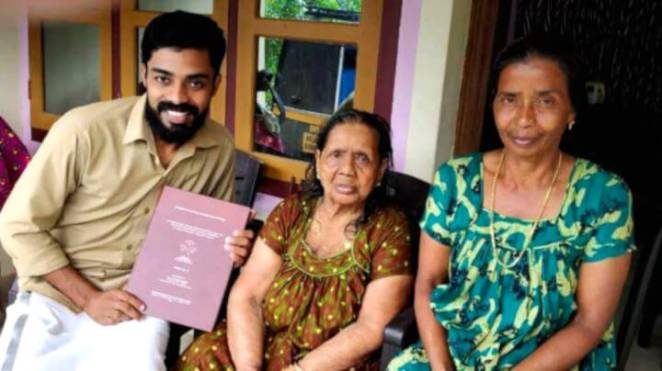 inspiring story of Dr Ajith first phd graduate from his university