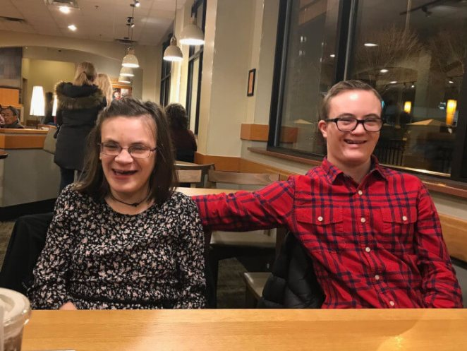 Photos make you smile, People with a rare developmental disorder went on her first date